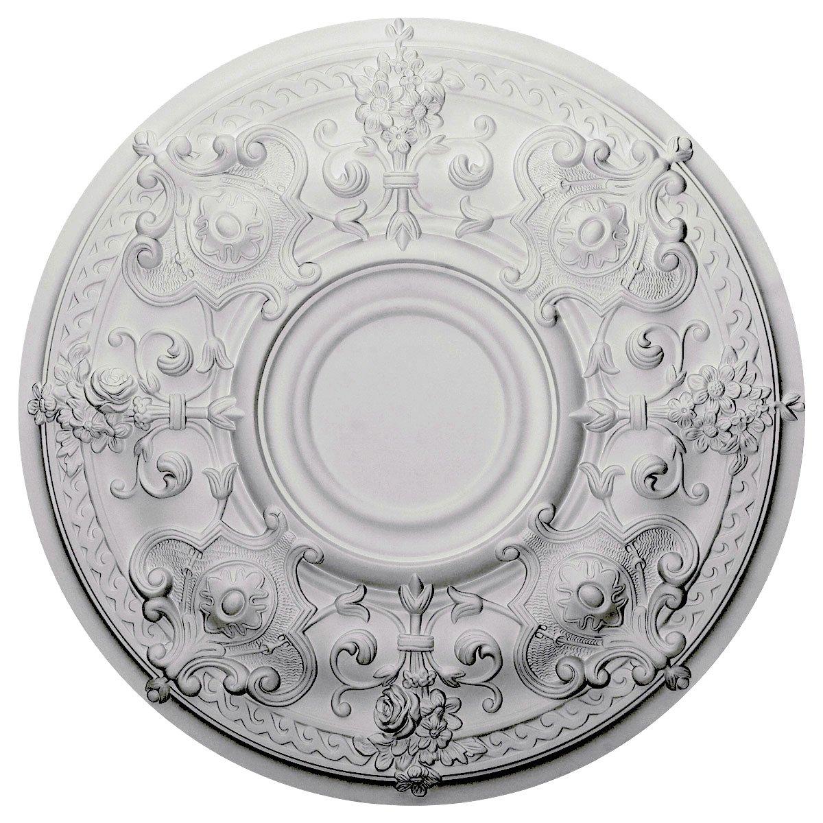Ekena Millwork CM28OS 28 1/8-Inch OD x 1 3/4-Inch P Oslo Ceiling Medallion