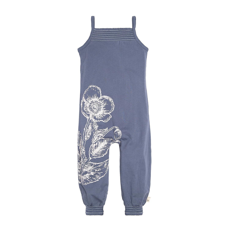 Burt's Bees Baby Girl's Romper Jumpsuit, Short Sleeve One-Piece Jumpbee, 100% Organic Cotton