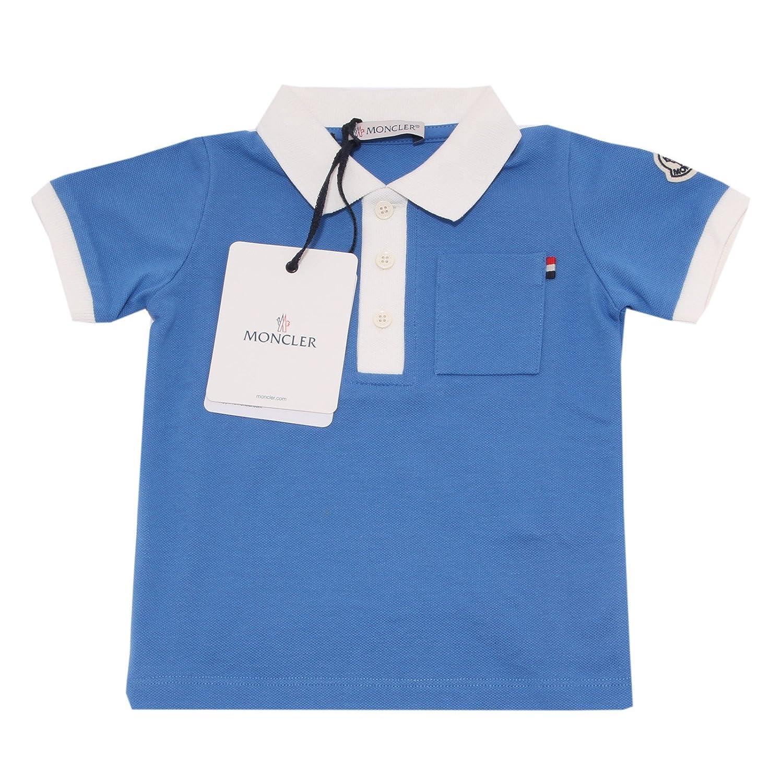 Moncler Shirts turquesa