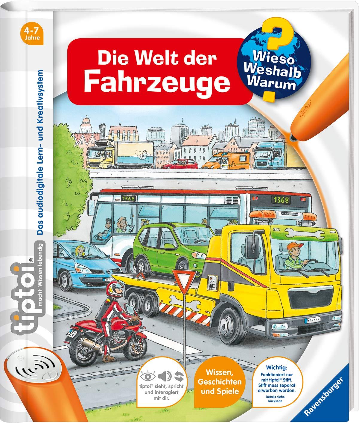 Tiptoi® Die Welt Der Fahrzeuge  Tiptoi® Wieso  Weshalb  Warum  Band 12