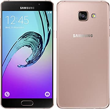 Samsung GALAXY A5 (2016) A510F pink-gold Android Smartphone ...