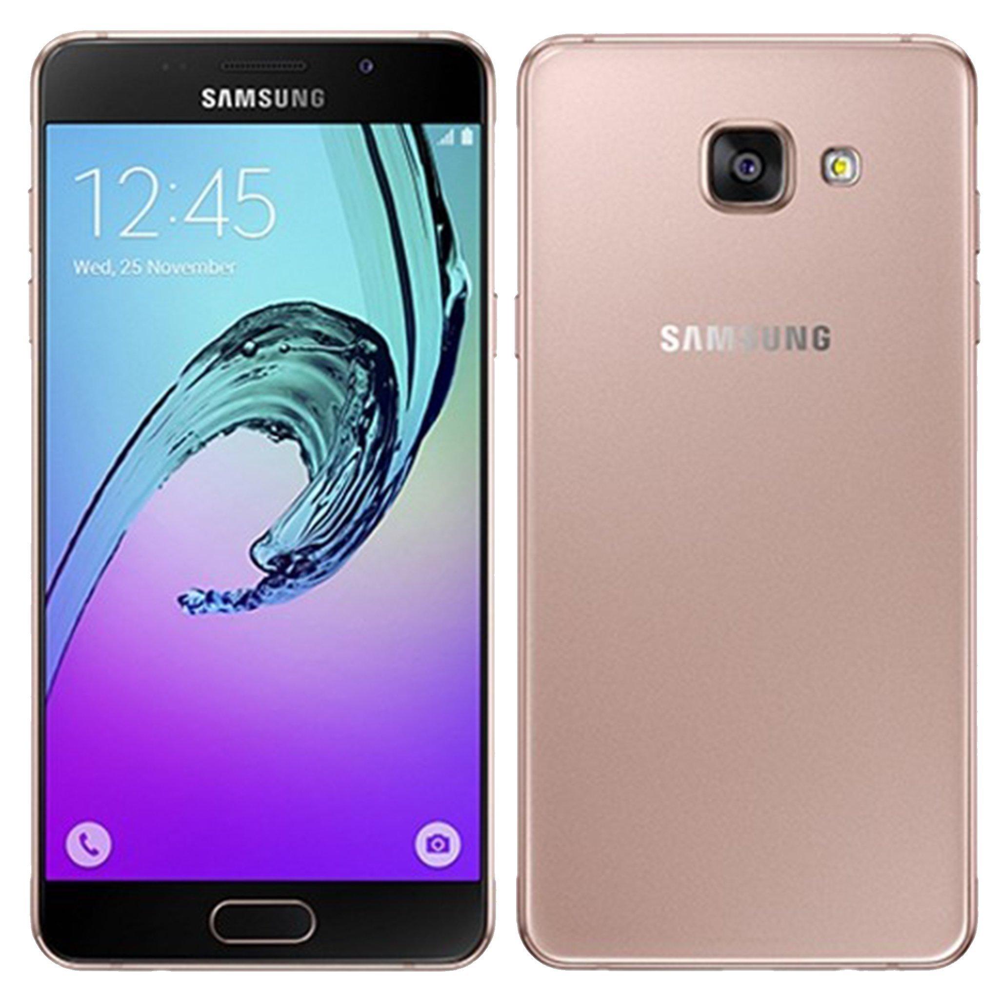 Samsung Galaxy A5 (2016) 16GB SM-A510F Factory Unlocked 4G/LTE Single-SIM Smartphone - International Version with No Warranty (Pink)
