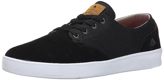 Emerica Laced Herren Sneakers Skateboardschuhe by Leo Romero Schwarz/Braun