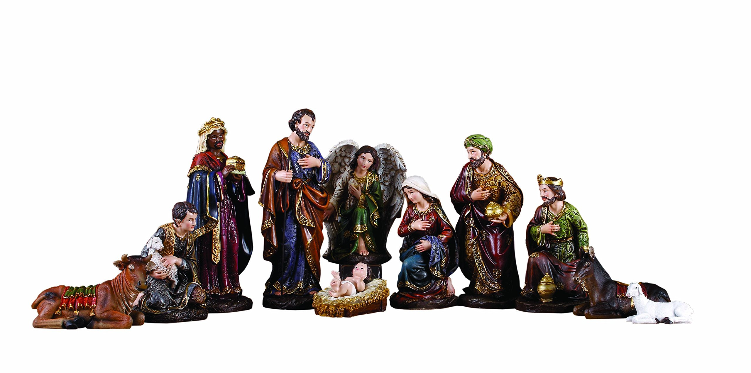 Napco Nativity Stoneware Set by Napco