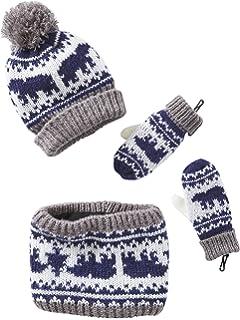 f7a1ba808b6 Vertbaudet Bonnet garçon + snood + gants ou moufles  Amazon.fr ...