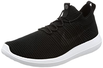 finest selection 88d06 f720c Nike Roshe Two Flyknit V2, Baskets Homme, Blanc Noir Anthracite, 40