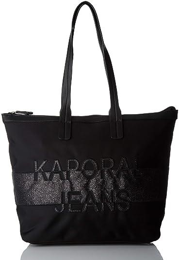 9a0e070f3c Kaporal femme Nepha Sacs portes epaule Noir (Black): Amazon.fr ...