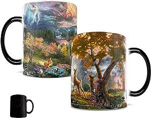 Morphing Mugs Disney - Bambi - Heat Reveal Ceramic Coffee Mug - 11 Ounces