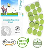 Moni-Q Secretz Mosquito repellent patch/60 count Resealable 3cm/Natural Mosquito Repellent/Repellent with CITONELLA, EUCALYPTUS/ Hours of Protection/apply to cloths, kids, adults