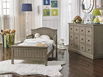 Fisher-Price Delmar Toddler Bed, Vintage Grey