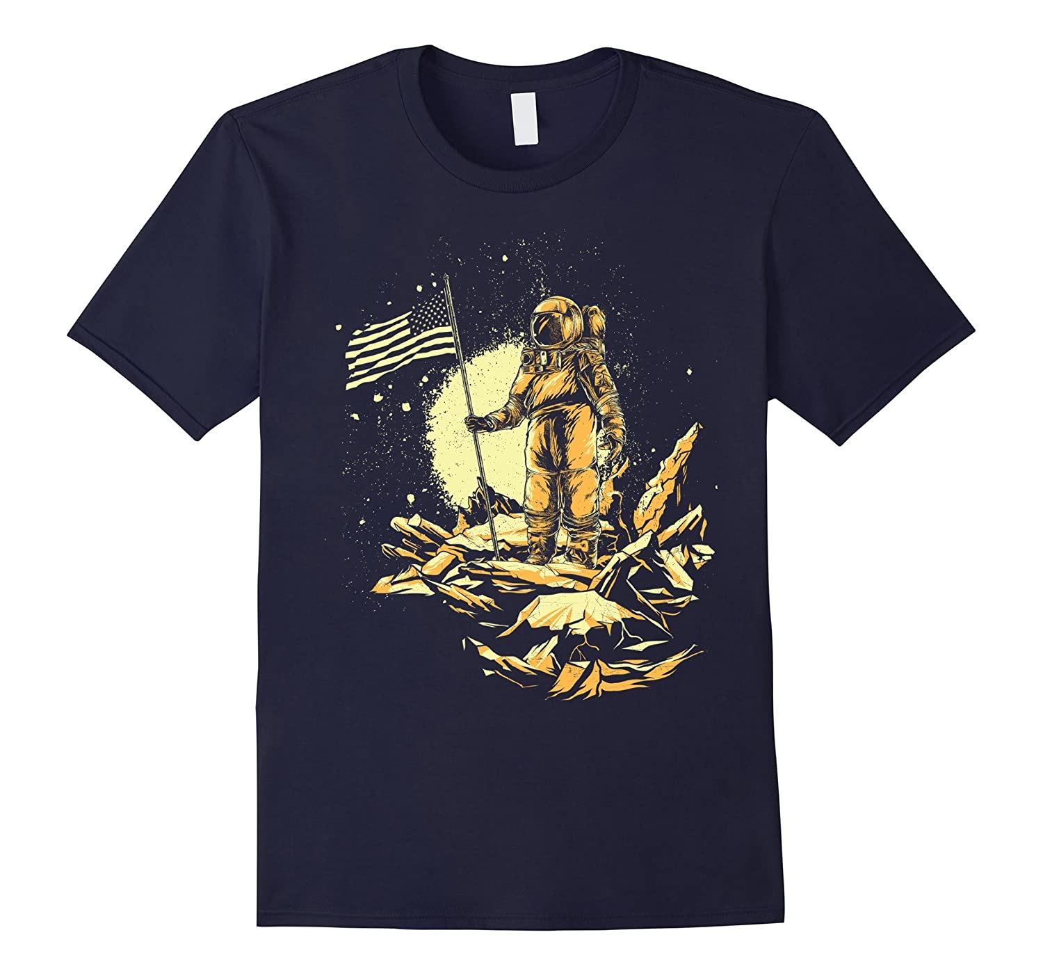 Astronaut in Outer Space Tshirt Tees-FL