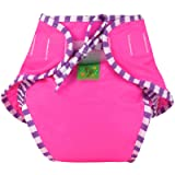 Kushies Swim Diaper, Pink Solid, Medium