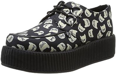 T.U.K. Original Footwear Viva Mondo Kitty Cat Creeper O3Lse7OsMH