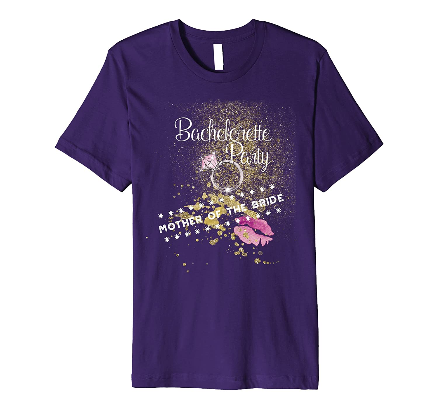 Bachelorette Party Team for Mother of the Bride T-Shirt-CD