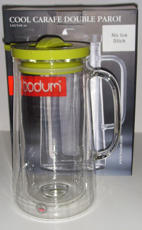 bodum COOL agua jarra sin Ice Stick, doble pared, 1,0 l - 11079-565X: Amazon.es: Hogar