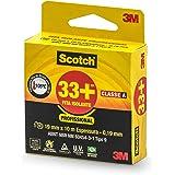 3M Scotch, Fita Isolante, 33 +, 19mm x 10m