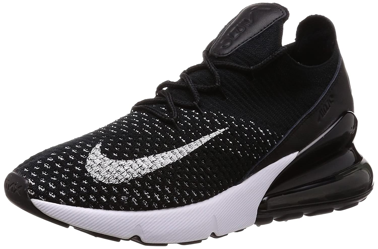 half off 9b552 5ecf4 Amazon.com  Nike Womens Air Max 270 Flyknit Running Trainers Ah6803  Sneakers Shoes  Running