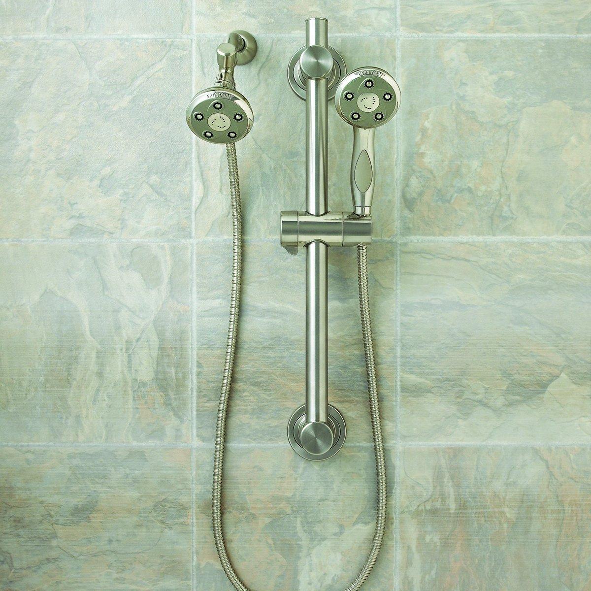 2.5 GPM Speakman VS-122007-BN Napa Anystream ADA Shower Combination Brushed Nickel