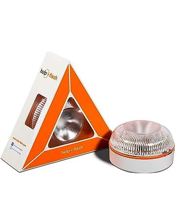 Help flash - Luz de emergencia autónoma - Señal v16 de preseñalización de peligro, homologada