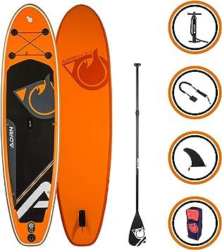 ADRN Tabla Hinchable de Paddle Surf Cruiser 102 (310 x 76 x 12,7 ...