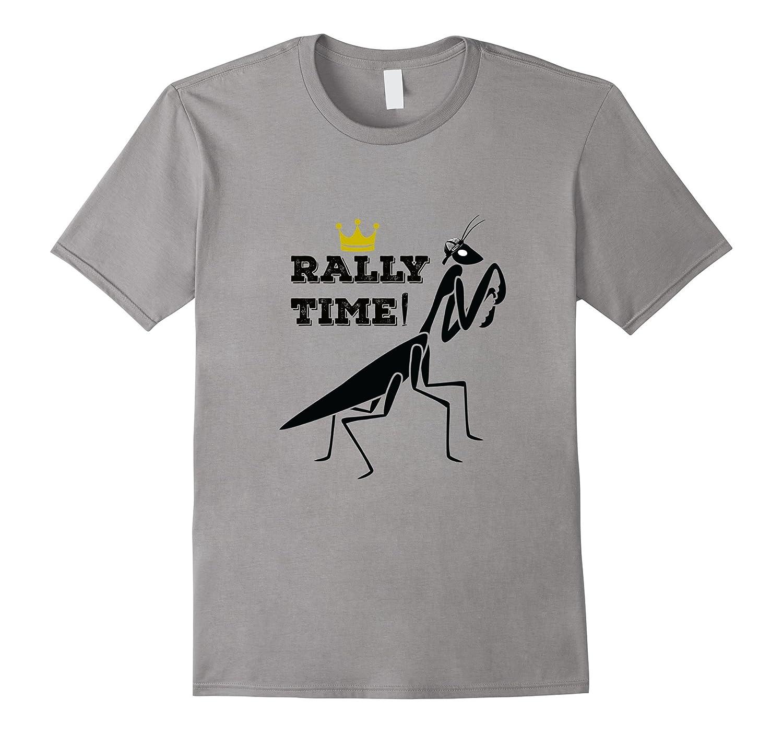 RALLY TIME Rally Cap Mantis Kansas City Baseball T-Shirt-CD