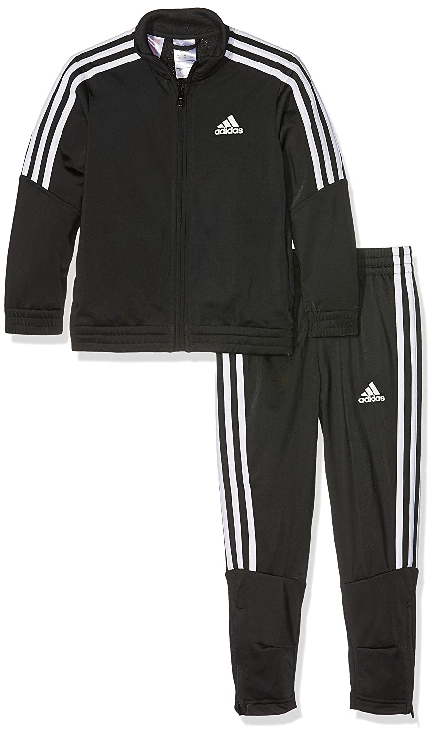 adidas Boys  Junior Trio Poly Tracksuit  Amazon.co.uk  Sports   Outdoors a09058737d0