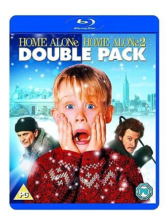 Amazon Com Home Alone 1 2 Blu Ray Region Free Uk Import Macaulay Culkin Chris Columbus Movies Tv