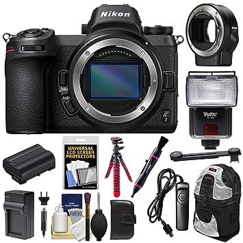 Amazon.com: Cámara digital Nikon Z7 sin espejo cuerpo con ...