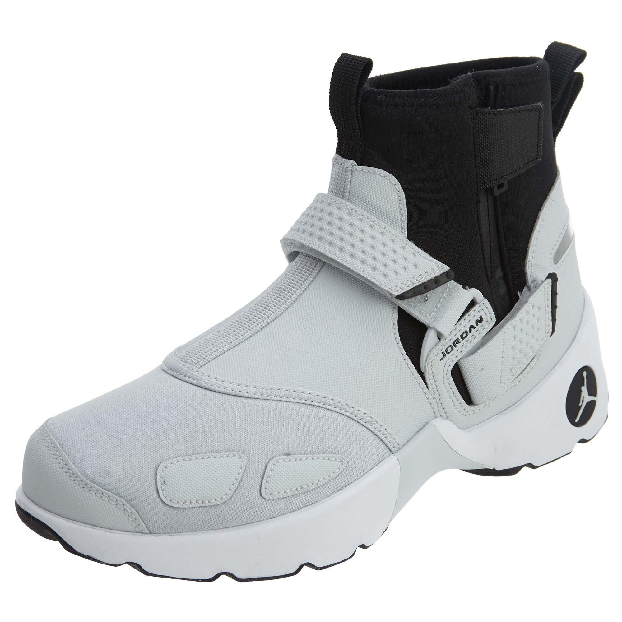 Nike Mens Jordan Trunner LX High Boots Pure Platinum/Black AA1347-002 Size 9.5 by NIKE