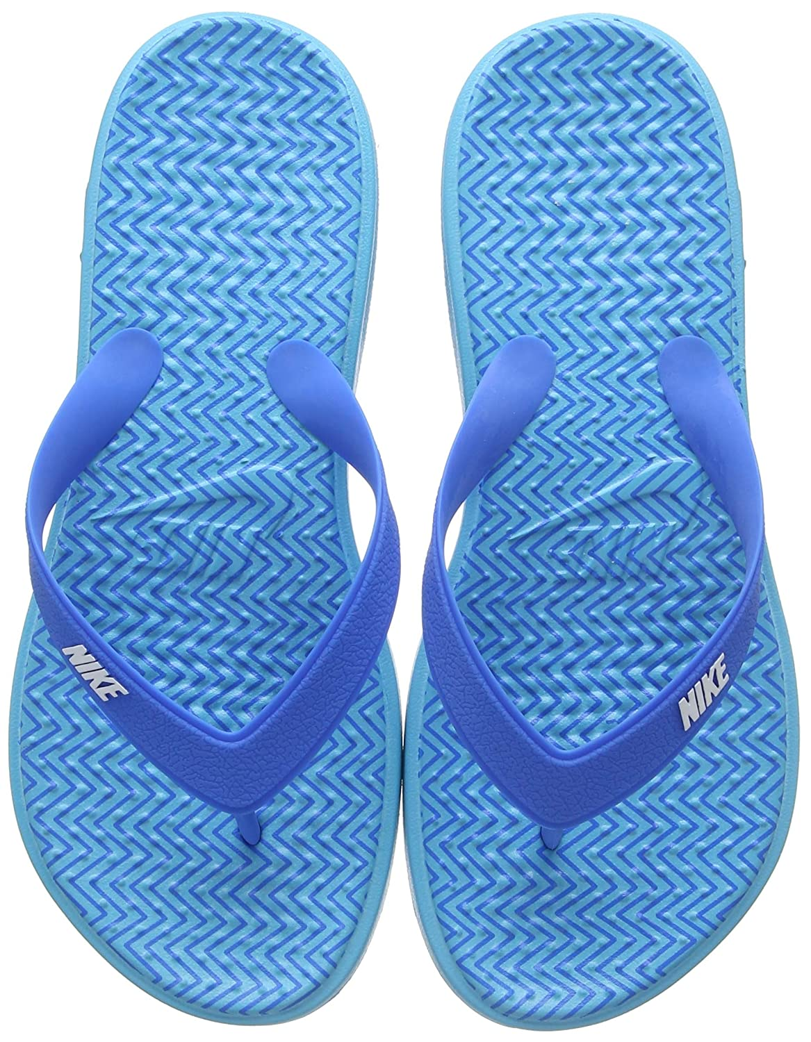 buy online c1ff7 dbcd4 Nike Women's WMNS Solay Thong Print Low-Top Slippers