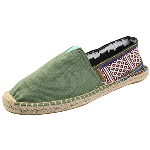 Alexis Leroy Bohemian, Alpargatas de Lona para Hombre: Amazon.es: Zapatos y complementos