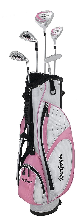 MacGregor Tourney - Juego completo de palos de golf (paquete, híbrido), talla 6-8YRS