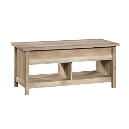 Sauder 420336 Cannery Bridge Lift Top Coffee Table, Lintel Oak