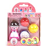 Sunny Days Entertainment Cupcake Bears Transforming Dolls Mini 4-Pack (Color & Style May Vary)