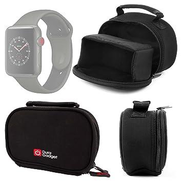 Duragadget Etui/Housse pour Montre connectée Apple iWatch 3ème série Nike+, Hermes 38 ou
