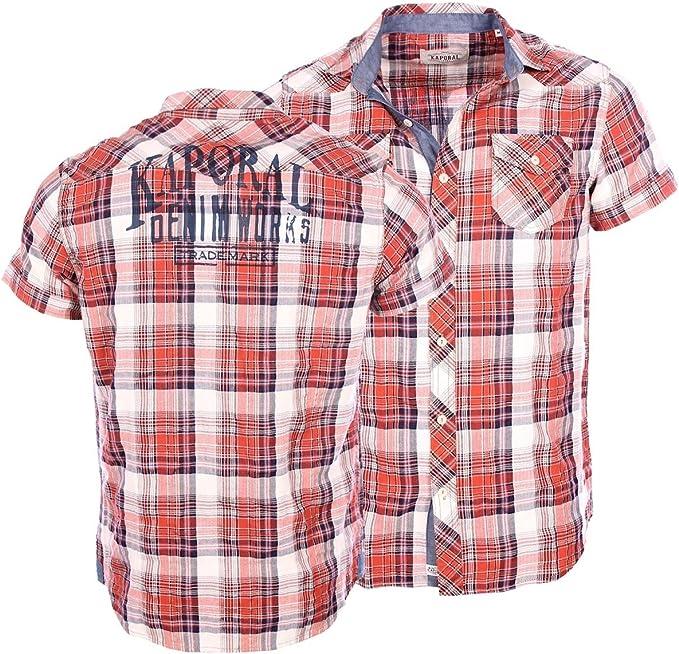 Kaporal Homme - Chemises Manches Courtes