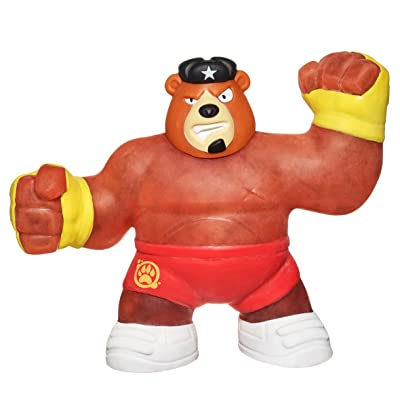Heroes of Goo Jit Zu - Single Spongy Bear Action Figure, Brawler: Toys & Games