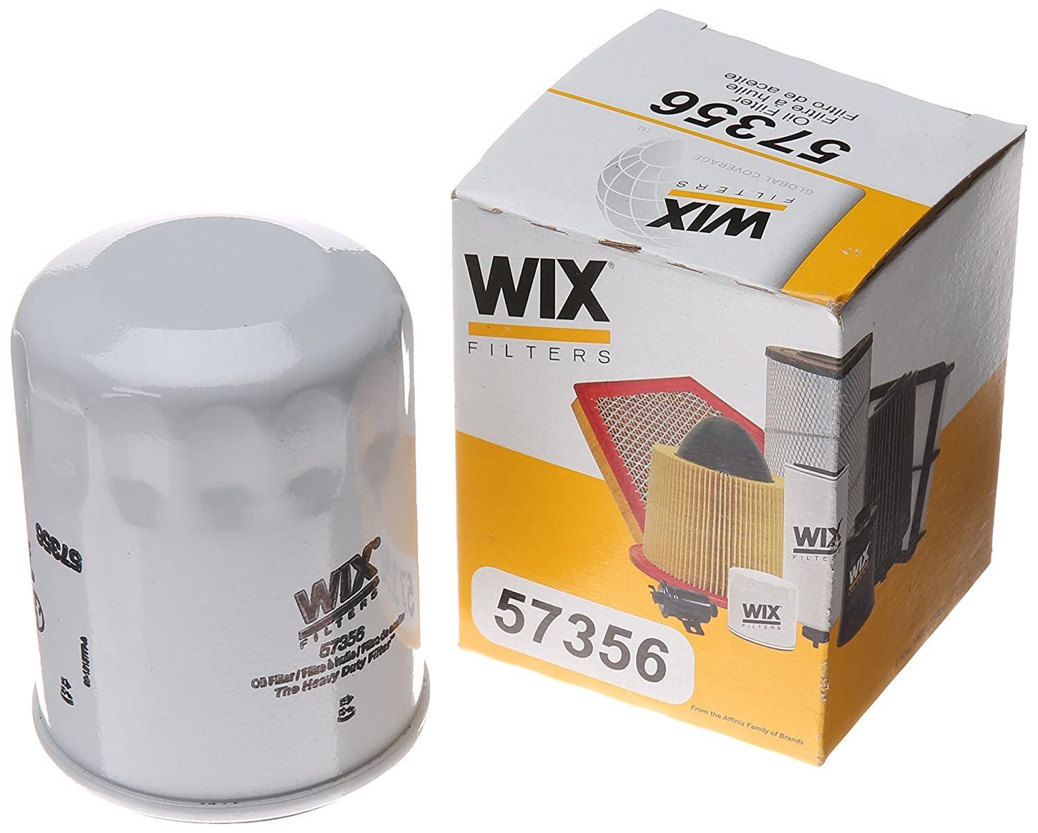 WIX Filters - 57356 Spin-On Lube Filter, Pack of 1