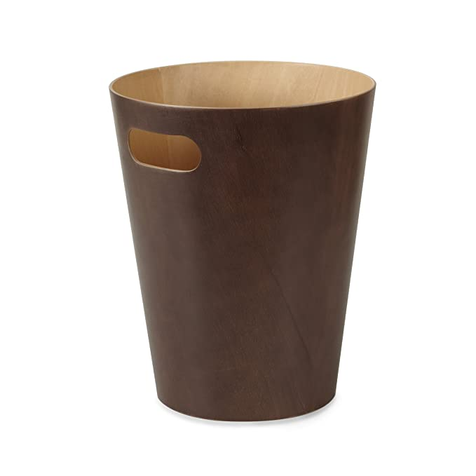 Made from 100% Natural Eco-Fri Woodluv Slimline Rubbish Bamboo Waste Paper Bin Waste Bins & Dustbins Home, Furniture & DIY