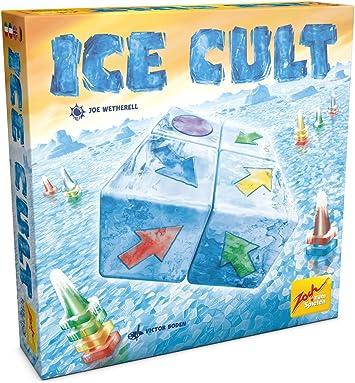 Zoch Ice Cult Niños y Adultos Juego de Mesa de Carreras - Juego de Tablero (Juego de Mesa de Carreras, Niños y Adultos, 30 min, Niño/niña, 10 año(s), Alemán, Inglés, Francés, Italiano):