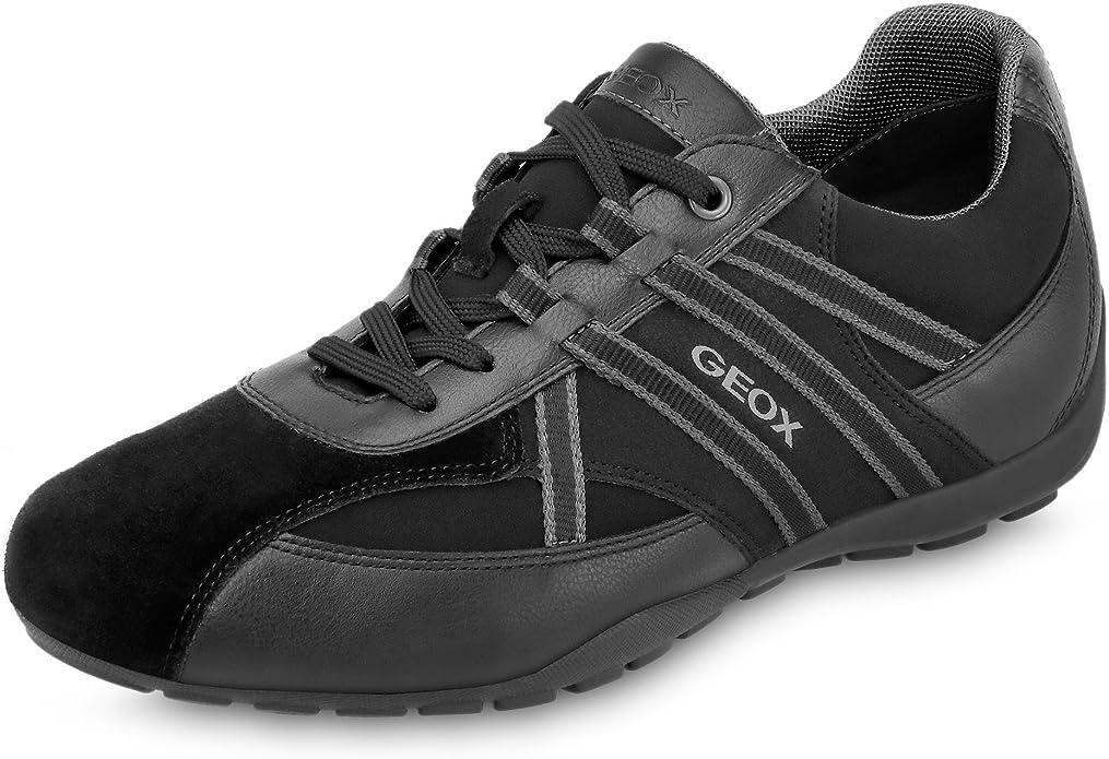 cigarro Vacaciones Representación  Geox - Geox Ravex Zapatos Deportivos Hombre Azul: Geox: Amazon.es: Zapatos  y complementos