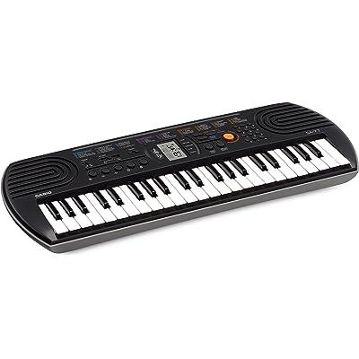 Casio SA-77 - Teclado MIDI con 44 teclas mini, color gris