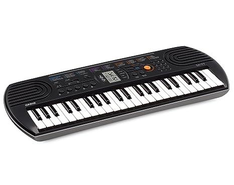 CASIO SA-77 MINI KINDER KEYBOARD E-PIANO SYNTHESIZER 44 TASTEN 100 KLANGFARBEN