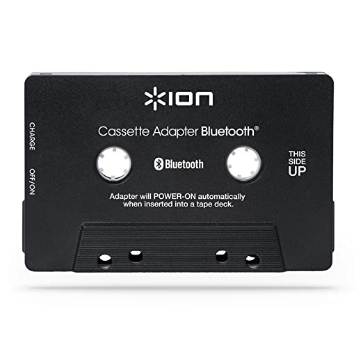43 opinioni per ION Audio Cassette Adapter BT Cassetta Ricevitore Bluetooth per Autoradio e