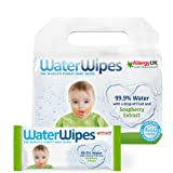 Water Wipes - Baby Wipes With Soapberry, Value Pack 240's - 4 x 60's