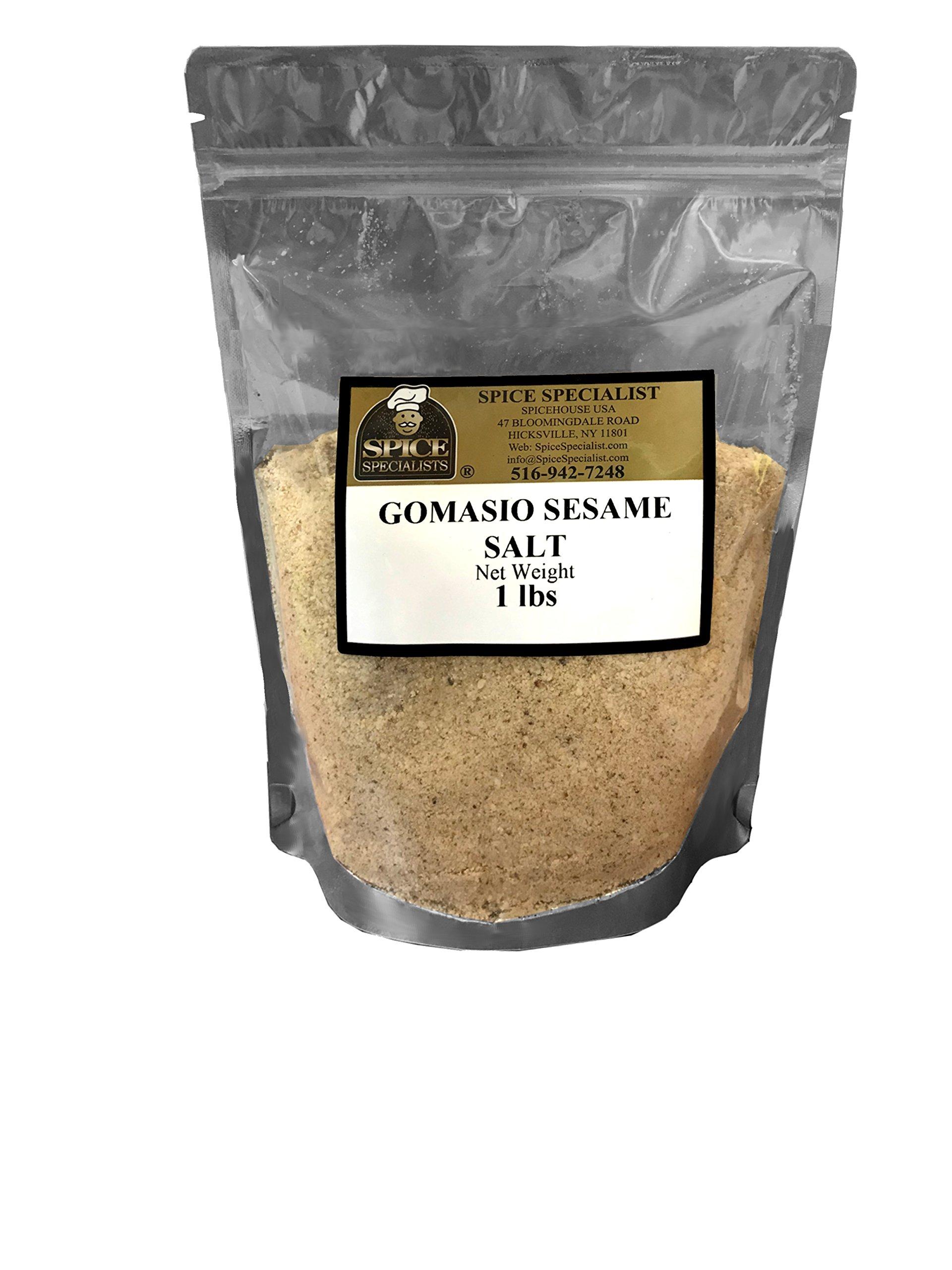 Chef Cherie's Gomasio (Sesame Salt) 1 lb, Plastic Bag by Chef Cherie