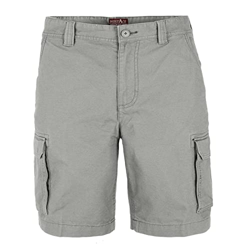 westAce Mens Casual Work Cargo Combat Shorts Cotton Chino Summer Half Pant