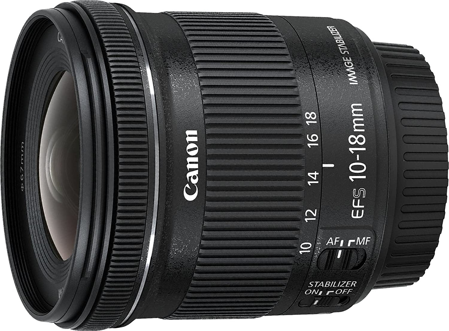 Canon EF S  mm f:  IS STM Objetivo para Canon