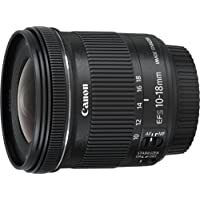 Canon EF-S10-18mm f/4.5-5.6 IS STM Lens - Black