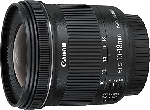 Review Canon EF-S 10-18MM IS